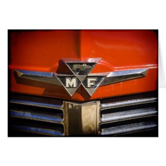 Massey Ferguson Emblem Thank You Card