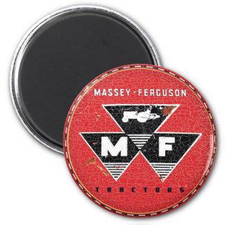 Massey Ferguson vintage tractors 2 Inch Round Magnet