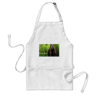Massive Hollow Cypress Standard Apron