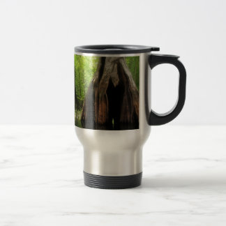 Massive Hollow Cypress Travel Mug