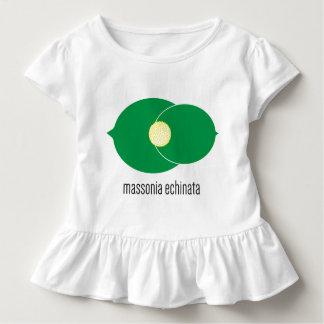 Massonia Echinata Toddler Ruffle Tee