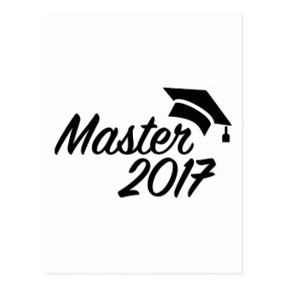Master 2017 postcard