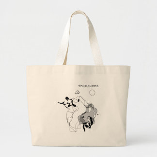 Master and Margarita Large Tote Bag