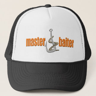Master Baiter Fishing T-shirts Gifts Trucker Hat
