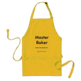 Master Baker \mas-ter-beyt-er\ Standard Apron
