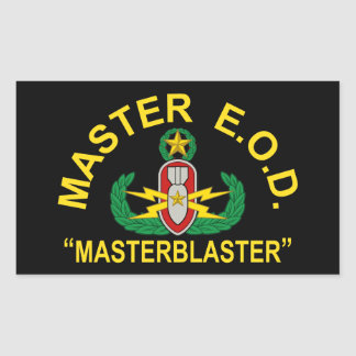 Master Blaster Sticker