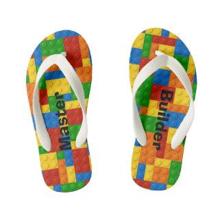 Master Builder Kids Blocks - Flip Flops