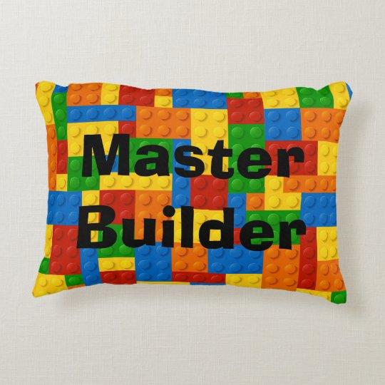 Master Builder Kids Blocks - Rectangle Pillow
