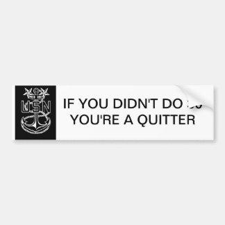 Master Chief 30 Bumper Sticker