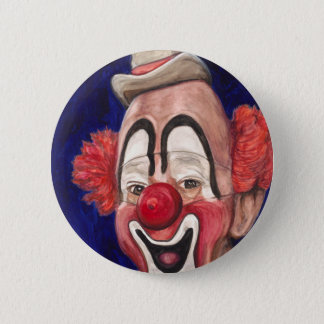 Master Clown Lou Jacobs 2 Inch Round Button