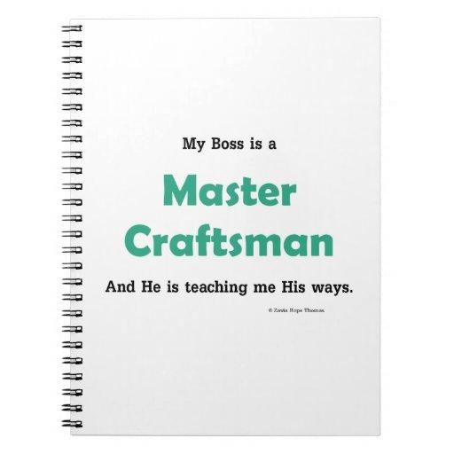 master craftsman spiral notebook