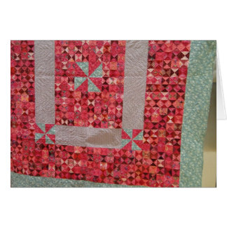 Master Craftsman, Quilts Card