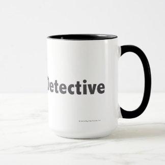 Master Detective Grey Mug