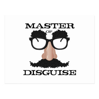 Master Disguise Postcard