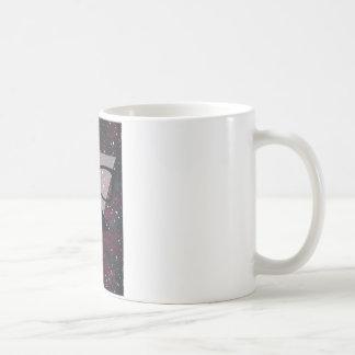 Master Disguise Space Funny Face Basic White Mug