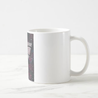 Master Disguise Space Funny Face Classic White Coffee Mug