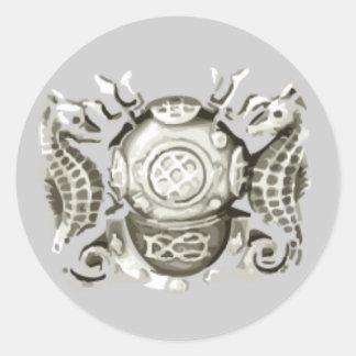 Master Diver Sticker (Silver)