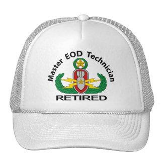 Master EOD in colour Retired Trucker Hat