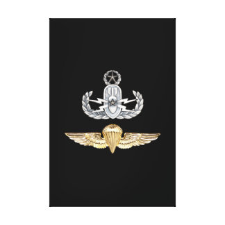 Master EOD Parachutist Canvas Print