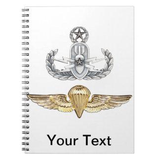 Master EOD Parachutist Notebooks
