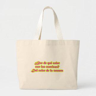 Master frases 15 05 canvas bag