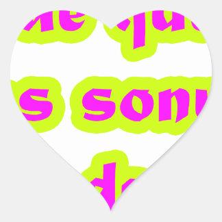 Master  frases 15.05 heart sticker