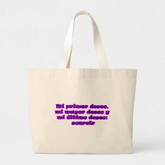 Master frases 15 08 canvas bag