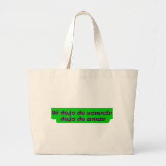 Master frases 15 10 canvas bags