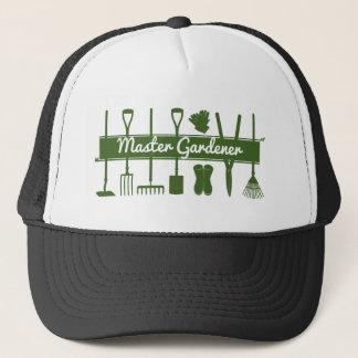 Master Gardener Simple Modern Forest Green Trucker Hat