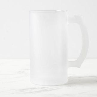 Master Gobler Frosted Glass Beer Mug