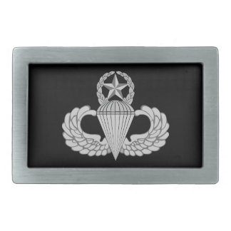 Master Jump/Parachutist Wings Belt Buckles