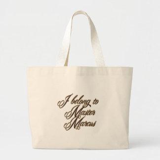 Master Marcus Jumbo Tote Bag