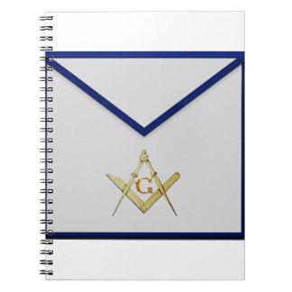 Master Mason Apron Notebooks