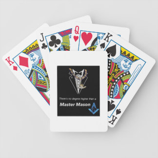 Master Mason Bicycle Playing Cards