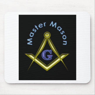 Master Mason (in black) Mouse Pad