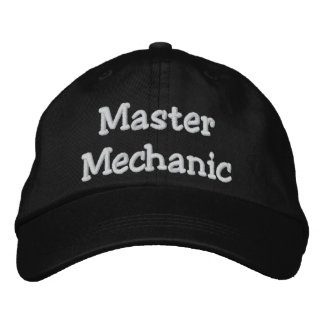 Master Mechanic Embroidered Hat