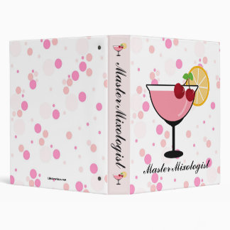 Master Mixologist- Personalized Recipe Binder
