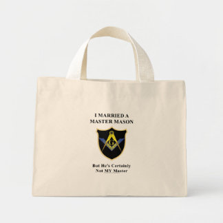 Master my butt mini tote bag