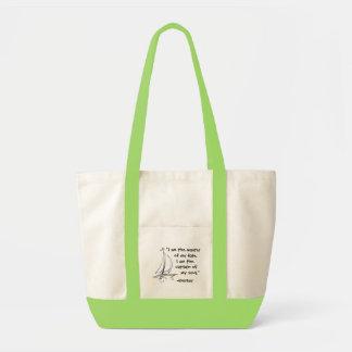 Master of my fate impulse tote bag