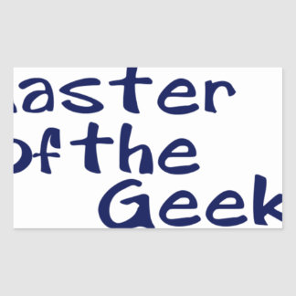 Master of the geeks