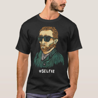 Master of the Selfie | Funny Van Gogh Shirt