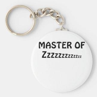 Master of Zzzzzz Keychain