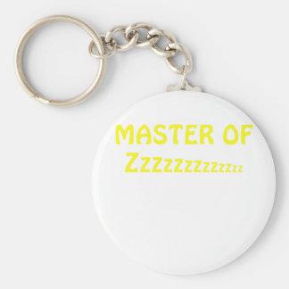 Master of Zzzzzzzz Keychain