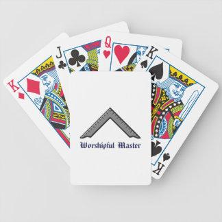 master poker deck
