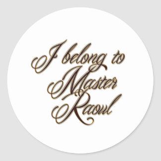 Master Raoul Sticker