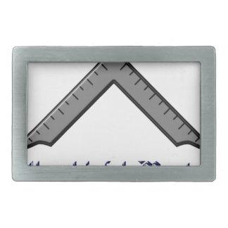 master rectangular belt buckle