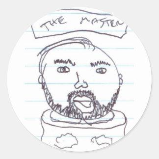 Master Round Sticker