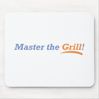 Master the Grill Mouse Pad
