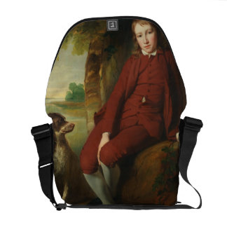 Master Ward (oil on canvas) Messenger Bags