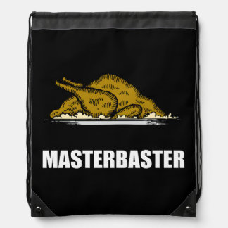 Masterbaster Funny Holiday Turkey Drawstring Bag